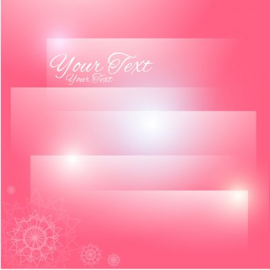 Abstract pink background. Vector stock vector