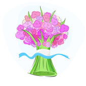 bouquet. Vector illustration. vector illustration