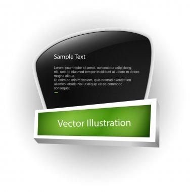 Vector banner. vector illustration stock vector