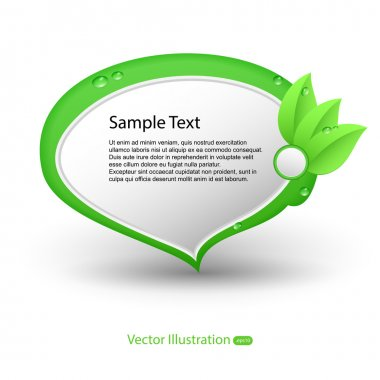Eco banners. Vector illustration stock vector