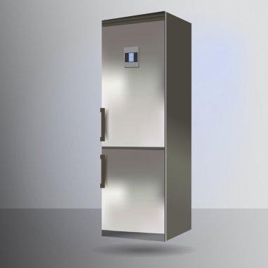Refrigerator vector,  vector illustration stock vector