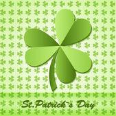 Shamrock, clover design, for St. Patricks Day.