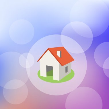 Vector illustration of home stock vector