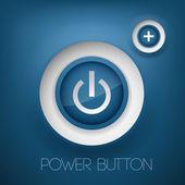 Vector power button. vector illustration