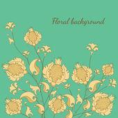 Vektorillustration des floralen Hintergrunds