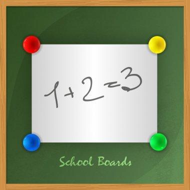Chalkboard vector vector illustration stock vector