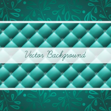 Vintage blue frame. Can be used as invitation stock vector