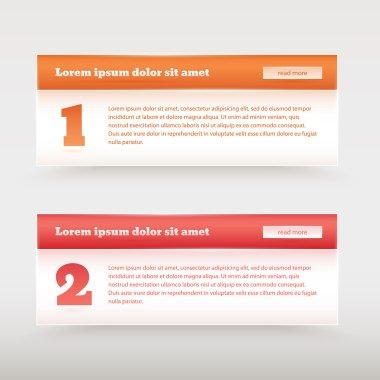 Website design templates vector illustration stock vector