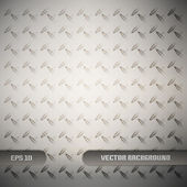 Metal texture background. Vector