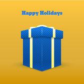 Geschenk-Grußkarte - frohe Feiertage.