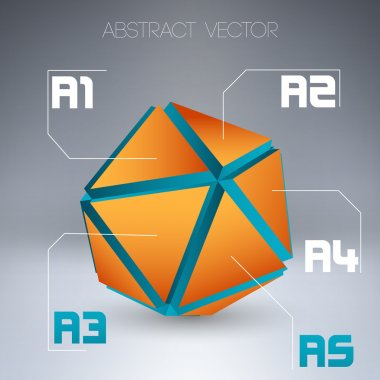 Abstract vector background. vector illustration stock vector