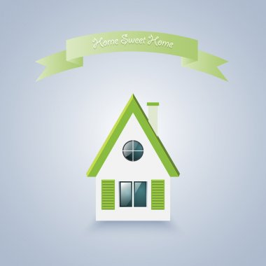 Home sweet home. Vector illustration stock vector