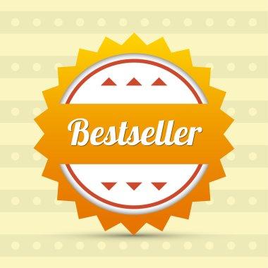 Label - Bestseller.  vector illustration stock vector
