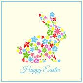 Happy Velikonoční přání - Velikonoční zajíček