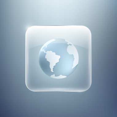 Vector planet icon,  vector illustration stock vector