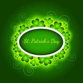 Greeting Card St Patrick Day vector illustration
