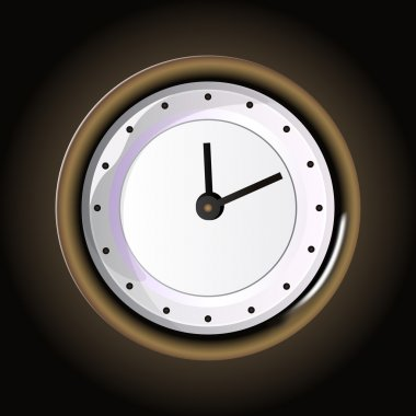 Vector clock,  vector illustration stock vector