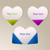 Vektorpapier heizt sich mit Ihrem Text auf