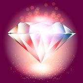 Crystal vektor, vektor illusztráció