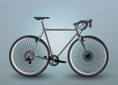Vector Bicycle Illustration, vector  illustration
