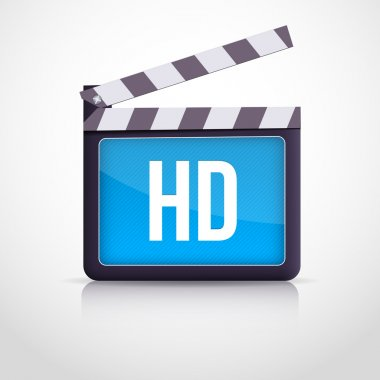 Vector movie clipboard vector illustration stock vector