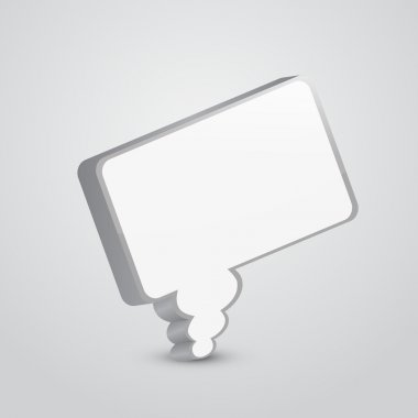 Speech bubble,  vector illustration stock vector