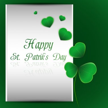Vector illustration of St.Patrick's Day background stock vector