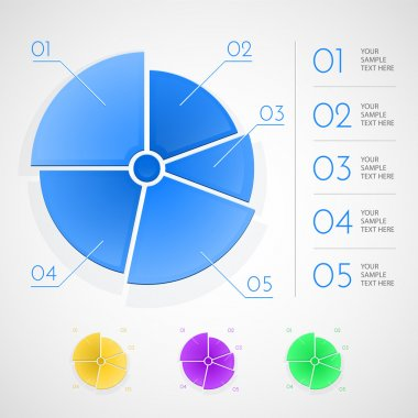 Infographic elements. vector illustration stock vector