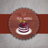 čaj menu s košíčky