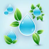 Eco kapky vody