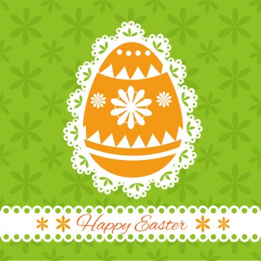 Easter greeting card. Vector illustration. stock vector