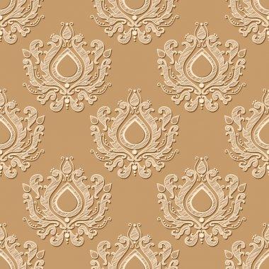 Seamless wallpaper pattern. Vector illustration stock vector
