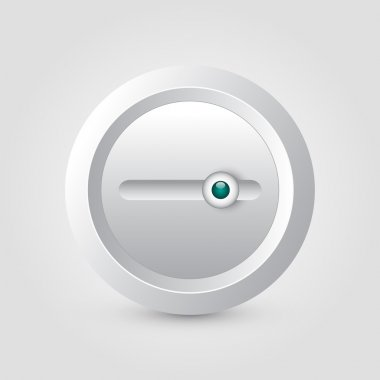 Vector switch button,  vector illustration stock vector