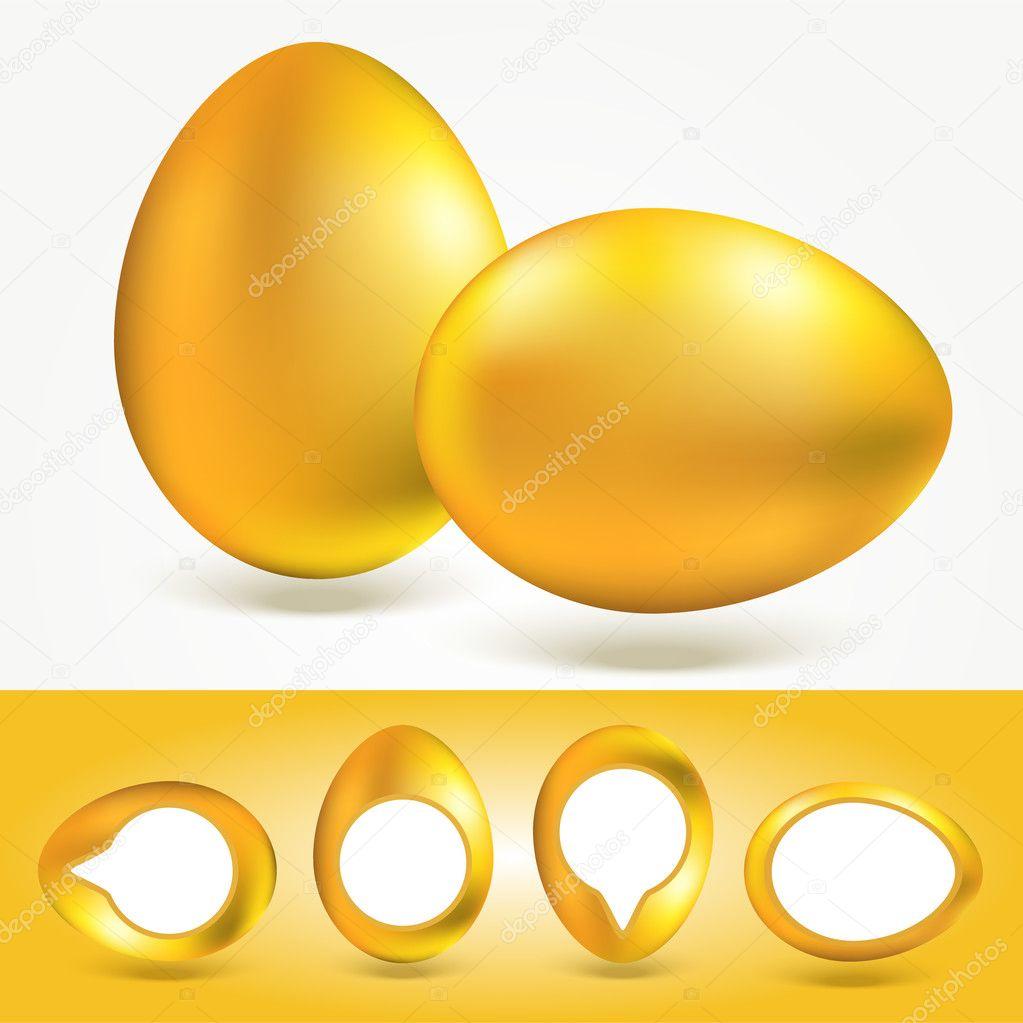 Vector eggs texture vector illustration stock vector