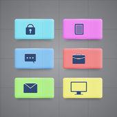 Icons für Business  Office