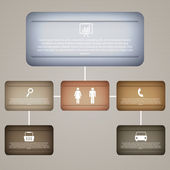 Büro- und Business-Ikonen. Vektor