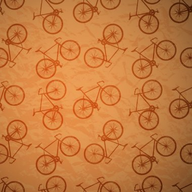 Retro bike background,  vector illustration stock vector