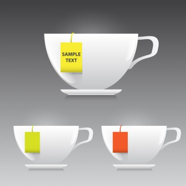 Vector cup of tea illustration stock vector
