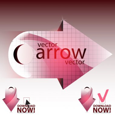 Vector arrow vector illustration stock vector