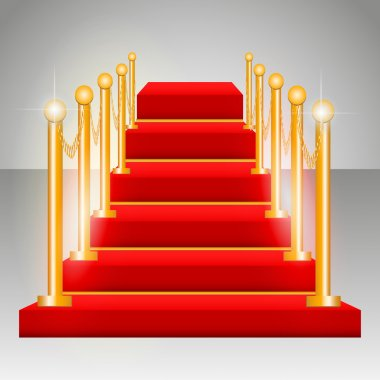 Vector podium vector illustration stock vector