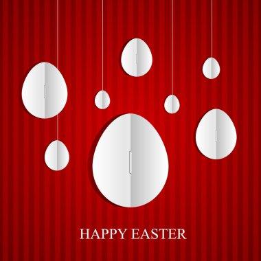 Easter card. Vector illustration stock vector