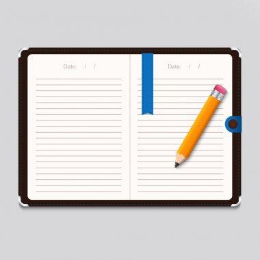Design template, vector design stock vector