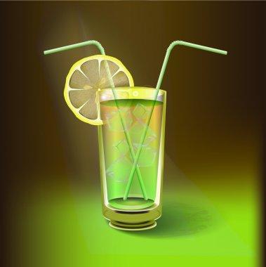 Lemon juicy, vector design stock vector