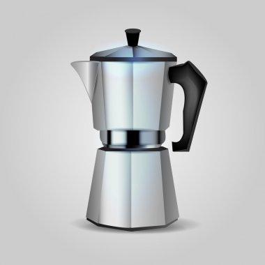 Cofee maker, vector ilustration stock vector