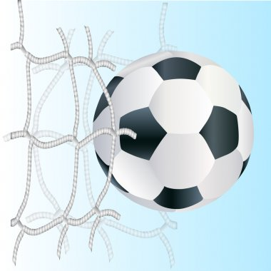 Vector football ball,  vector illustration stock vector