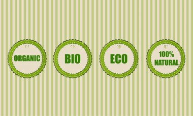 Eco vector icons,  vector illustration stock vector