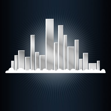 Abstract city. Vector illustration stock vector