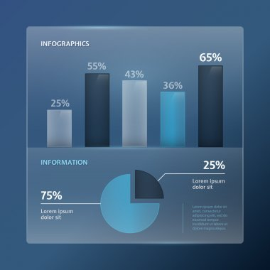 Detail infographic vector illustration stock vector