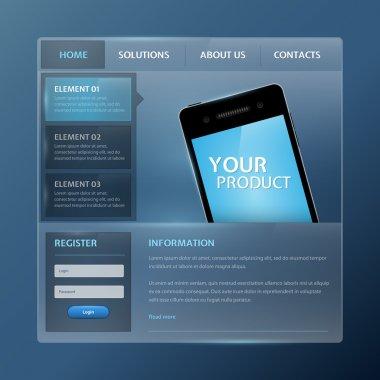 Website Design Vector Elements stock vector