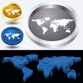 world map, vector design